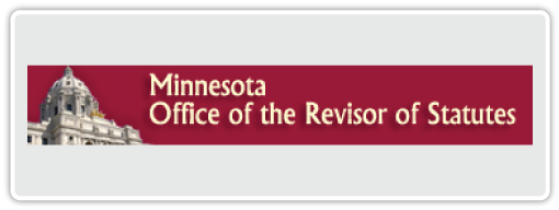 Minnesota Office Of The Revisor Of Statutes